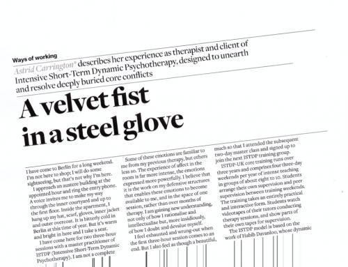A velvet fist in a steel glove